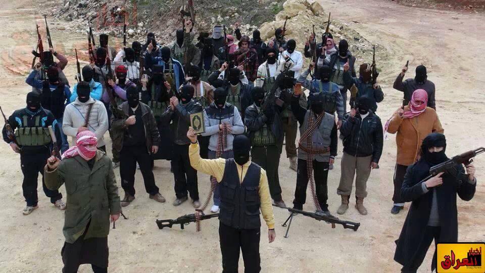 صورة للمتظاهرين السلمين في ساحة اعتصام الانبار