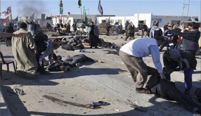 حقوق الإنسان العراقية تستنكر الصمت الدولي عن المجازر ضد الزوار