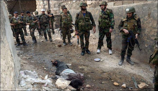 مجازر للمسلحين في عدرا، ومقتل قيادات النصرة في دير الزور+فيديو