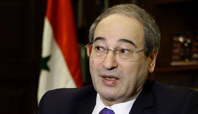 """المقداد: السعودية تنفذ سياسة """"تدمير ممنهج"""" لسوريا"""