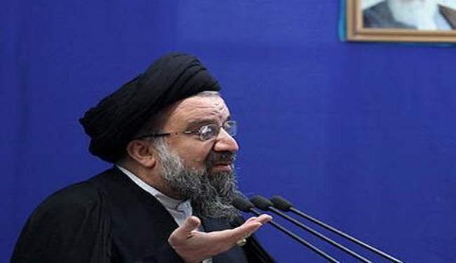 إمام جمعة طهران : قائد الثورة أنموذج للاعتدال