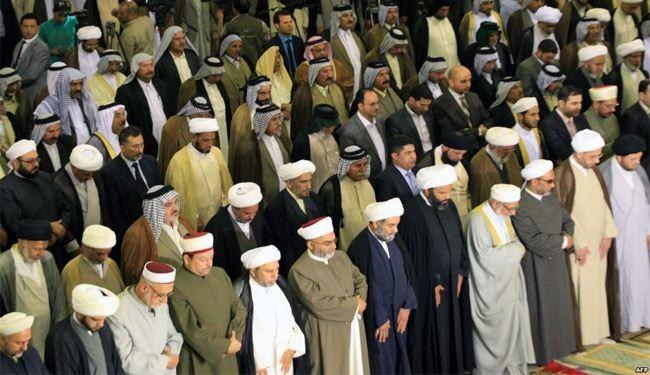 بالصور.. امة اسلامية واحدة