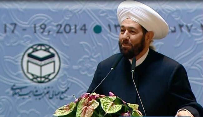 مفتي سوريا: علينا ان نلتف حول محور ايران لمواجهة محور الشر