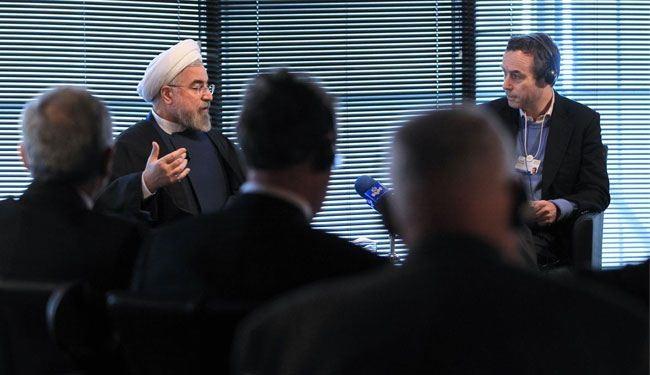 الرئيس روحاني: الأولوية لوقف إراقة الدماء وطرد الإرهاب من سوريا