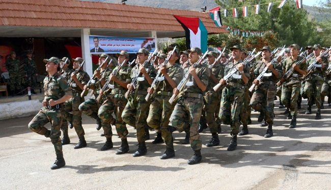 الجیش السوري یستعيد بلدة رنكوس