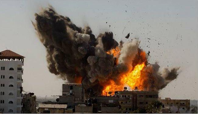 الاحتلال يقصف غزة تزامنا مع اعلان المصالحة الفلسطينية
