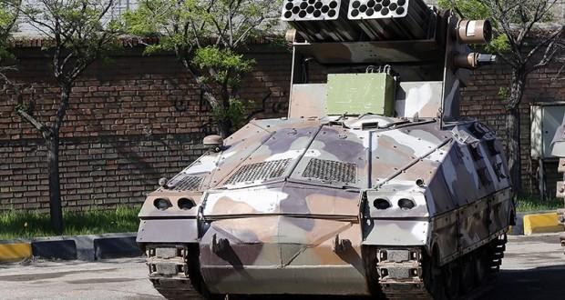 تدشين أحدث المعدات العسكرية للقوات البرية للجيش الإيراني+صور