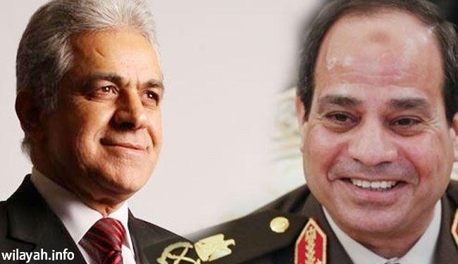 بالفيديو؛ أنصار السيسي وصباحي يواصلون إستقطاب الناخبين