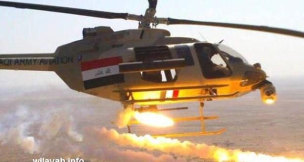 """مقتل العشرات لـ""""داعش"""" بقصف جوي استهدف مطار الموصل"""