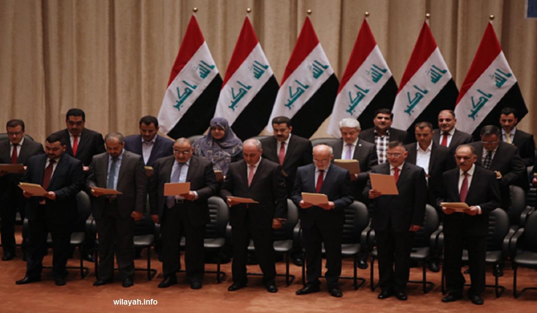 IRAQ-POLITICS-CABINET-APPROVE-GOVERNMENT
