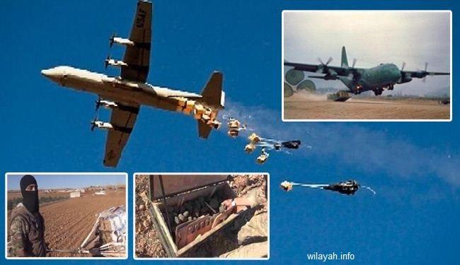 """الكشف عن إلقاء طائرات اميركية العتاد لمسلحي """"داعش"""" في جلولاء"""