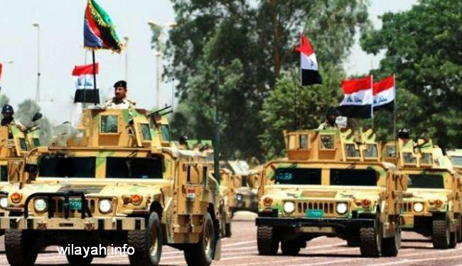 قوات الامن العراقية تدخل ناحية سليمان بيك