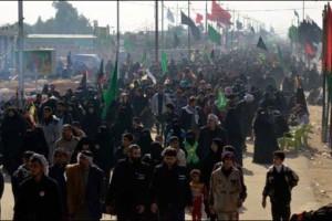 بالصور.. مسيرة اربعينية سبط النبي (ص) الامام الحسين (ع) الى كربلاء