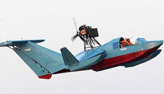 بالصور؛ زورق حربي ايراني جديد يحلق بسرعة فائقة فوق سطح الماء