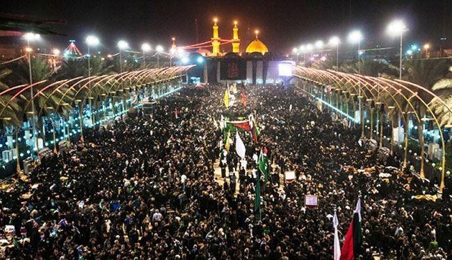توقعات بوصول أكثر من 17 مليون زائر إلى مدينة كربلاء المقدسة