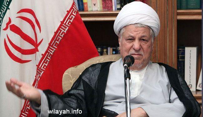 رفسنجاني: ايران نظمت اكثر الانتخابات ديمقراطية بالعالم