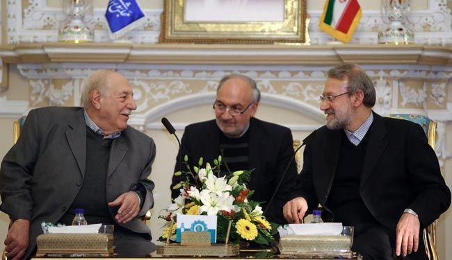 لاریجاني یؤکد ضرورة تلاحم الفصائل الفلسطینیة بوجه الاحتلال