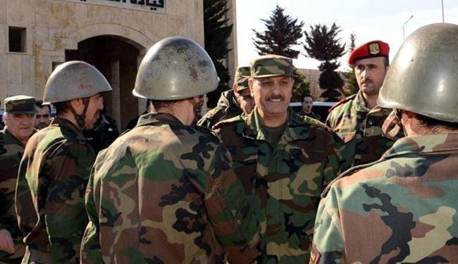 وزير الدفاع السوري:سنقضي على كل الإرهابيين