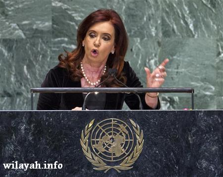 رئيسة الارجنتين تهاجم صندوق النقد الدولي لانتقاده البيانات الاقتصادية لبلدها