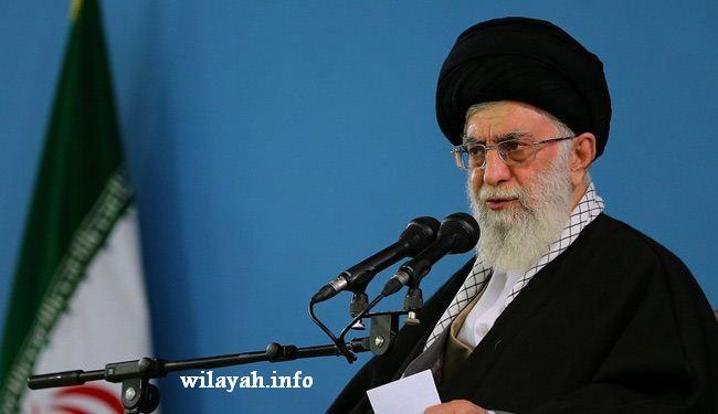 اية الله خامنئي: الشعب الايراني لن يرضخ لاي ابتزاز