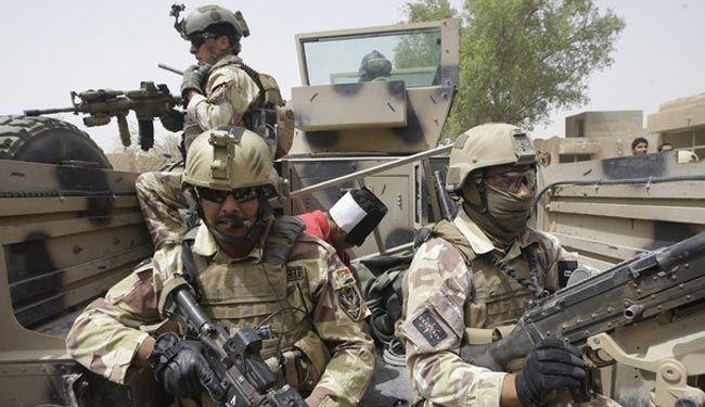 بالفيديو: قوات الجيش والحشد الشعبي تتصدى لداعش في صلاح الدين