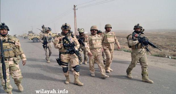 """القوات العراقية تضبط بنادق قنص """"إسرائيلية الصنع"""" شرق الرمادي"""