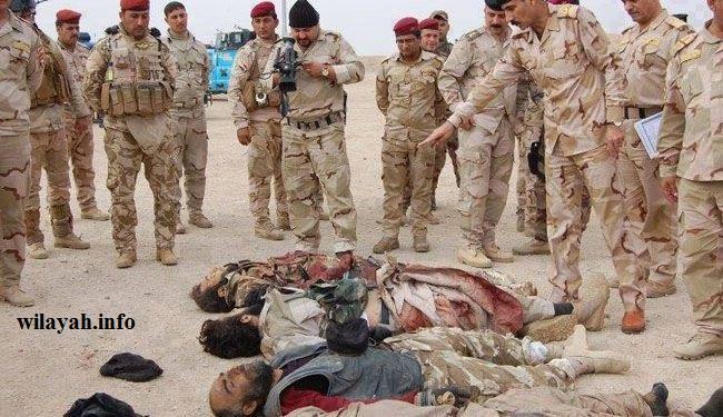 مقتل قادة بارزين لداعش في الفلوجة