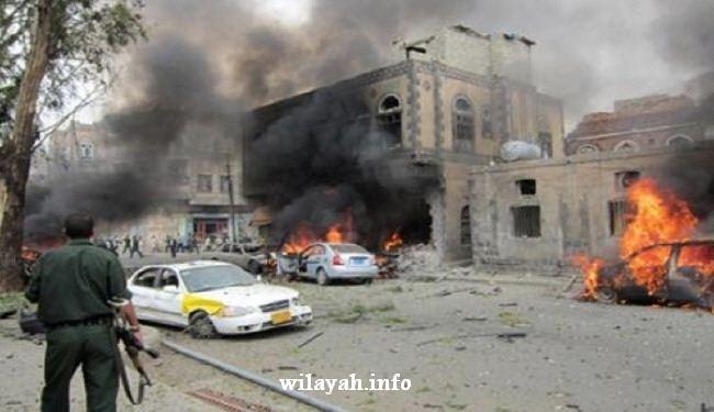 انفجارات قوية تهز العاصمة اليمنية صنعاء