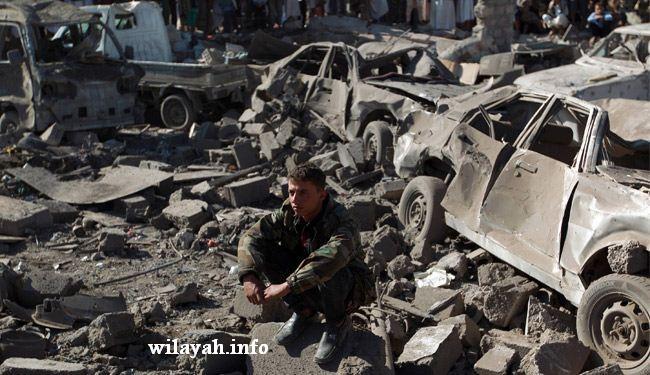 الغارات السعودية متواصلة على اليمن و40 ضحية في اليوم الاول