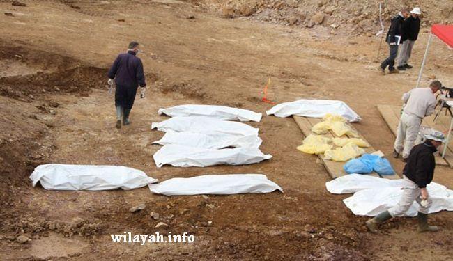 العثور على مقبرتين جماعيتين للايزيديين في سنجار