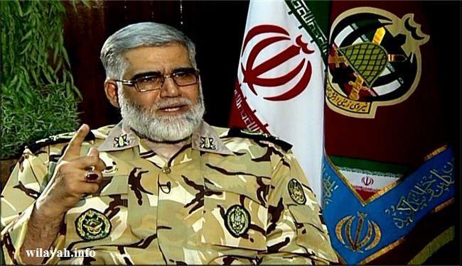 الجيش الايراني: الخطوط الحمر لحدودنا أبعد بكثير عن حدودنا على الأرض