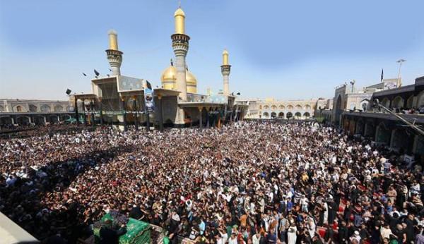ملايين الزوار يحيون ذكرى استشهاد الامام الكاظم (ع)