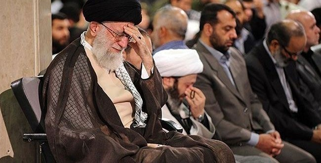 مراسم عزاء في ذكرى استشهاد الامام علي (ع) بحضور قائد الثورة