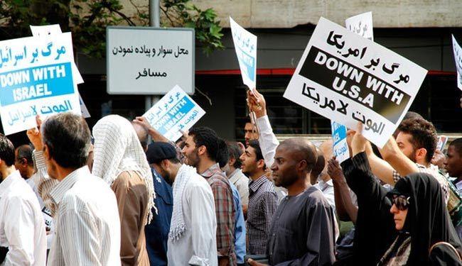 الايرانيون ينددون باقتحام الاسرائيليين للمسجد الاقصى