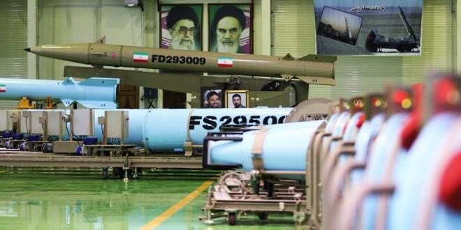 قواعد العدو في مرمى صواريخ ايران البالستية+صور وفيديو