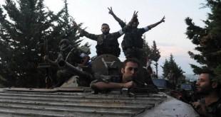 مدينة سلمى بيد الجيش السوري وتحرير مناطق عدة بريف حلب
