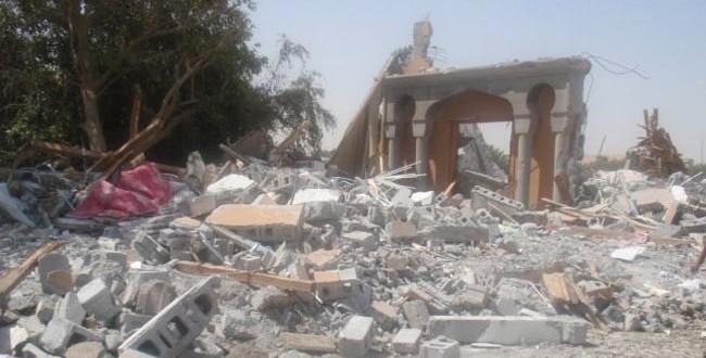 هدم مساجد البحرين احد أقبح جرائم الإضطهاد الديني