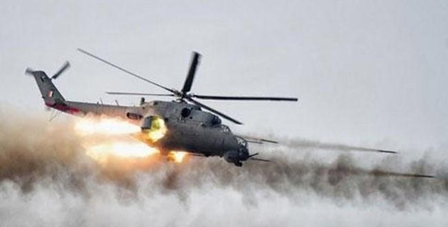 هلاك 30 ارهابيا في الموصل بقصف جوي ومدفعي