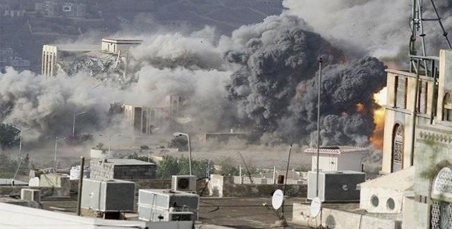 ضحايا بغارات على تعز ومقتل 80 مرتزقا للسعودية