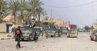 """القوات العراقية تحرر """"النويعمة"""" بالانبار وتتقدم بسرعة نحو """"الدولاب"""""""