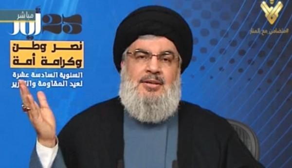 """السيد نصرالله : تطورات سوريا والعراق تبشر بنهاية """"داعش"""""""