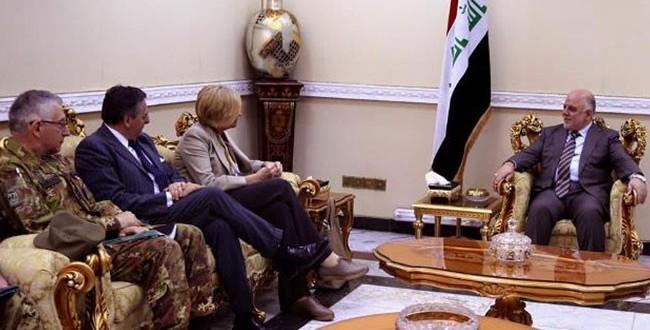 """العبادي: """"داعش"""" في تراجع وماضون بتحرير كافة الاراضي"""