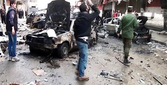 اصابة 9 مدنيين بينهم 6 اطفال بصواريخ للتكفيريين على حلب