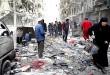 شهداء وجرحى بقصف التكفيريين لاحياء في حلب