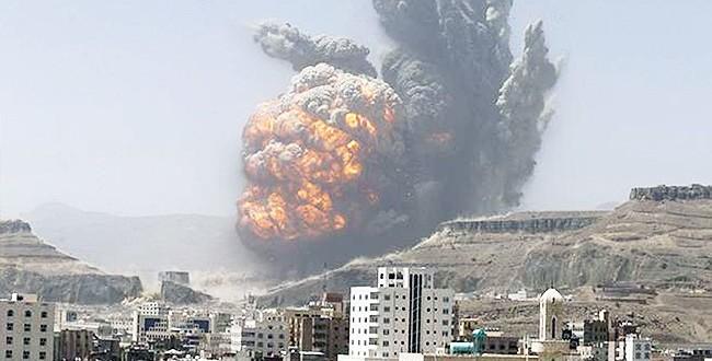 العدوان يواصل شن غاراته على مختلف أنحاء اليمن