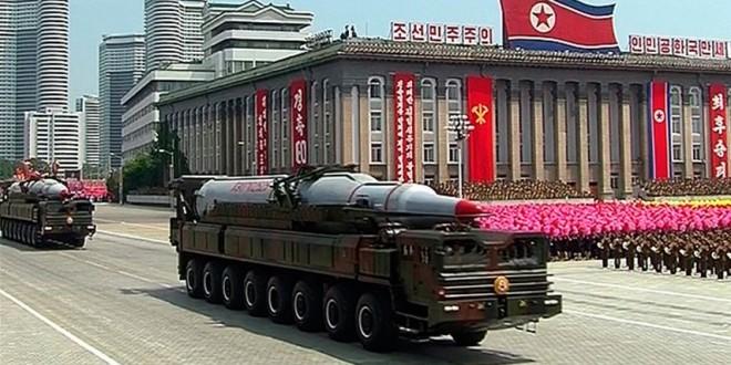 بيونغ يانغ تهدد واشنطن باستخدام السلاح النووي!