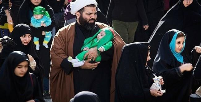 مراسم احياء اليوم العالمي لاستشهاد الطفل الرضيع بطهران
