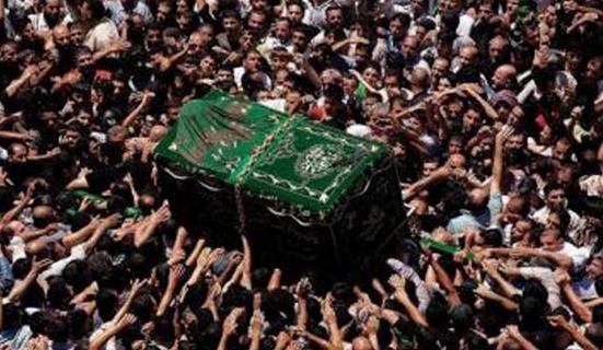 زوار-الامام-الكاظم-حشود-تشييع-جثمان