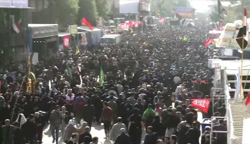 فيديو خاص: عدد زوار الاربعين هذا العام، عراقيون واجانب!!