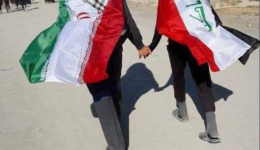 لكم التعليق.. صورة التقطت خلال مسيرة الاربعين الحسيني الى كربلاء المقدسة..